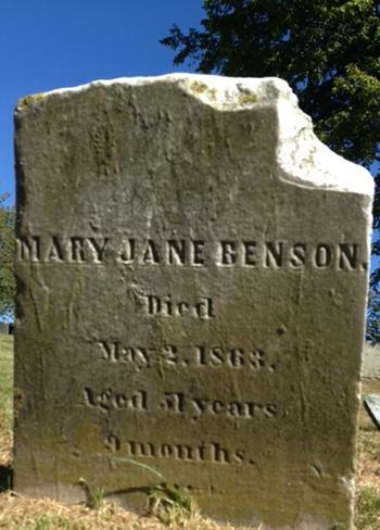 Benson, Mary Jane