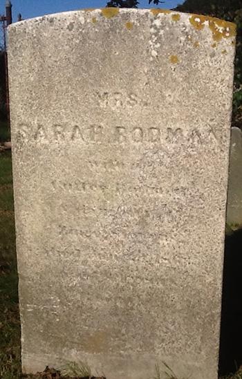 Rodman, Sarah