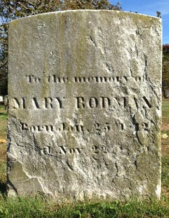 Rodman, Mary